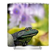 Stop And Smell The Hyacinths Shower Curtain