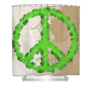 Stop The War Shower Curtain