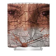 Stopped Time Shower Curtain