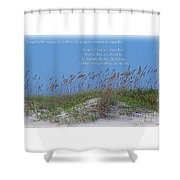 Stopping On Occasions Shower Curtain