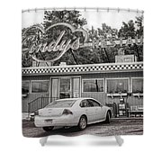 Stopping On Route 6 Shower Curtain