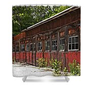 Storage Building Shower Curtain