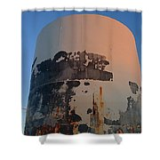 Storage Container Moon Coolidge Arizona 2004 Shower Curtain