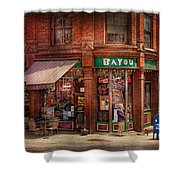 Store - Albany Ny -  The Bayou Shower Curtain