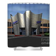 Store Front Concept Shower Curtain