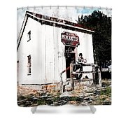 Store - General Mercantile Shower Curtain