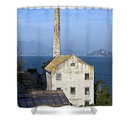 Storehouse Alcatraz Island San Francisco Shower Curtain