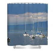 Storm A Brewing Shower Curtain
