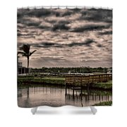 Storm A-coming Shower Curtain