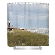 Storm Andrea Shower Curtain