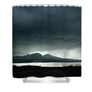 Storm At Admore Shower Curtain