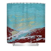 Storm At Red Rock Ridge Shower Curtain