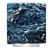 Storm At Sea Shower Curtain by Stephanie Grant