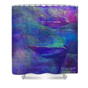 Storm Boats Shower Curtain
