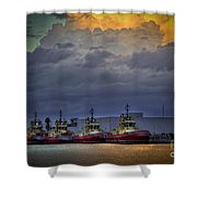 Storm Brewing Shower Curtain by Marvin Spates