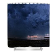 Storm Cell Over Lubec Maine Shower Curtain