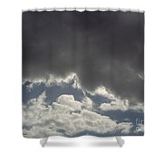 Storm Cloud Overhead Shower Curtain