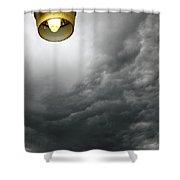Storm Clouds 2am-113933 Shower Curtain