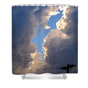 Storm Clouds 4 Shower Curtain