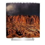 Storm Clouds Capitol Reef National Park Utah Shower Curtain