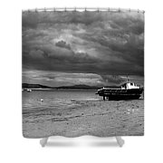 Storm Clouds Coming Shower Curtain