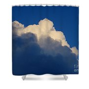 Storm Clouds In The Evening Shower Curtain