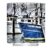Storm Clouds Over Shinnicock Shower Curtain
