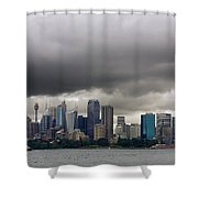 Storm Clouds Over Sydney Shower Curtain
