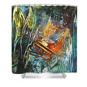 Storm In The Night Shower Curtain