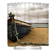 Storm Is Comming Shower Curtain