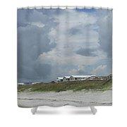 Storm Monster Blows 1 Shower Curtain