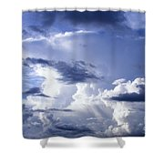 Storm Of Namibia Shower Curtain