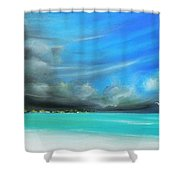 Storm On The Move Shower Curtain
