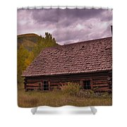 Storm Over Ashcroft Shower Curtain