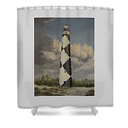 Storm Over Cape Fear Shower Curtain
