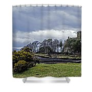 Storm Over Dunollie Shower Curtain