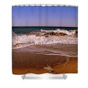 Storm Over  Shower Curtain