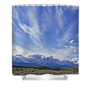 Storm Over Fitz Roy 4 Shower Curtain