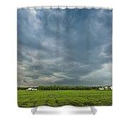 Storm Over Nursery Shower Curtain