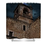 Storm Over The Alcazaba - Antequera Spain Shower Curtain