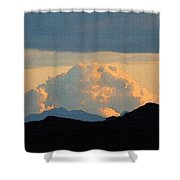 Storm Passing By Shower Curtain
