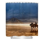Storm Riders Shower Curtain