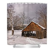 Storm Shed Shower Curtain
