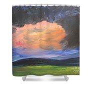 Stormchaser Shower Curtain by PainterArtist FIN
