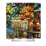 Storming Night Shower Curtain