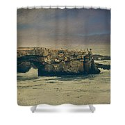 Storms Always Pass Shower Curtain by Laurie Search