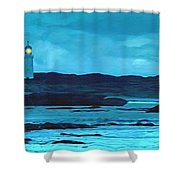 Storm's Brewing Shower Curtain