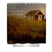 Storms Of Life Shower Curtain by Beverly Guilliams