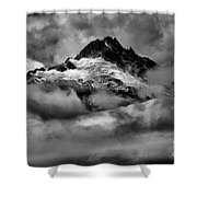 Storms Over Tantalus Shower Curtain
