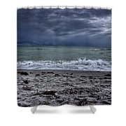 Storm's Rolling In Shower Curtain
